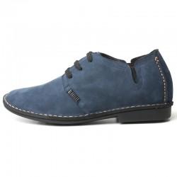 Cleto Blaue Schuhe Die Größer Machen
