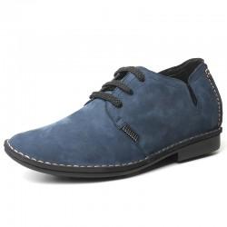 Blaue Schuhe Die Größer Machen 6cm