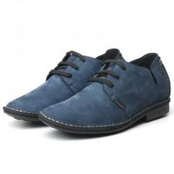 Cleto Blaue Schuhe Die Größer Machen +6 CM