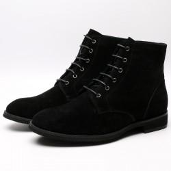 Wildleder Schuhe die größer machen Luca +6 cm