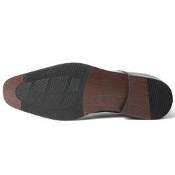 Schwarze Business Schuhe die größer machen