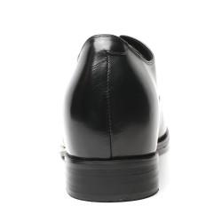 Schwarze Business Schuhe die größer machen 7cm