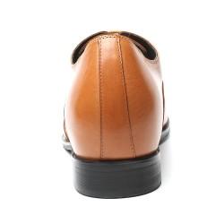 braune elegante schuhe Virgilio +7,5 cm