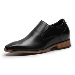 Slip-On Schuhe Die Größer Machen Schwarz